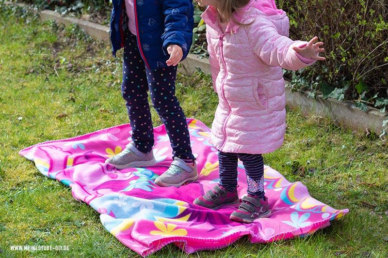 Fliegender Teppich auf dem Kindergeburtstag, meinestube-diy