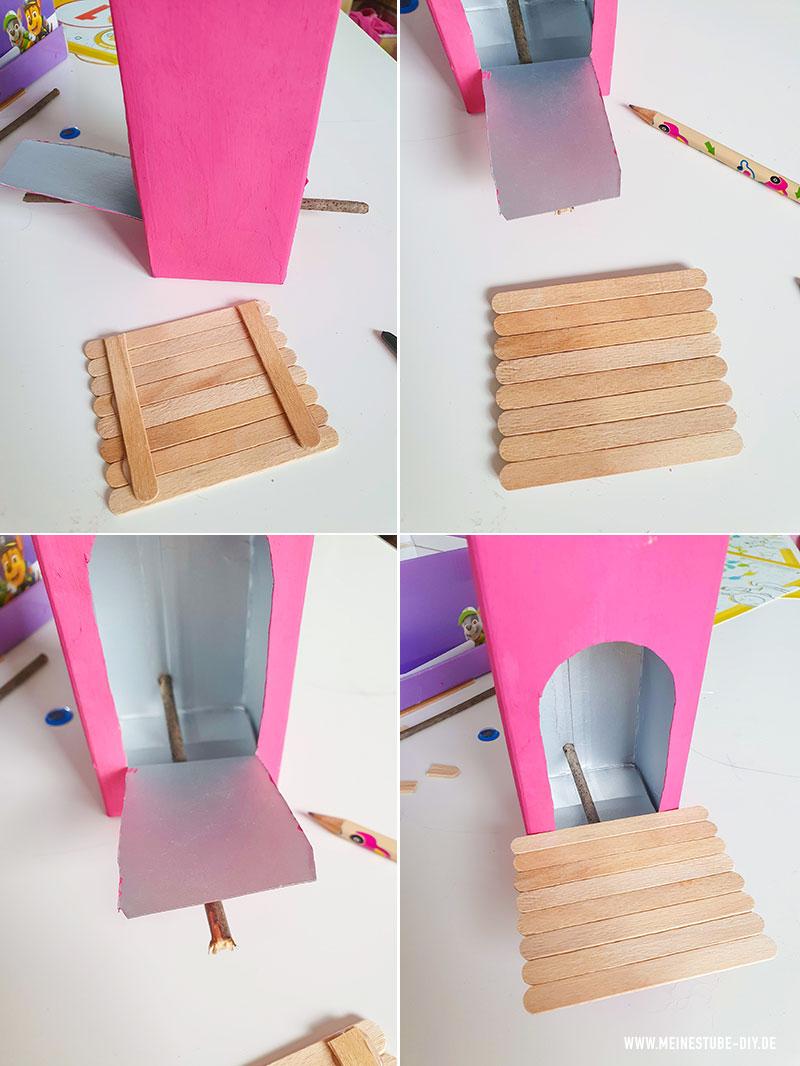 Vogelhaus aus Milchkarton basteln, meinestube-diy